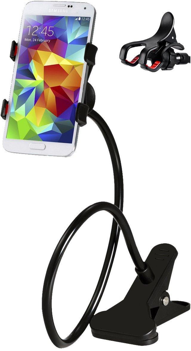 M&H-24 Universal Soporte, Smartphone Projector con cuello de cisne ...