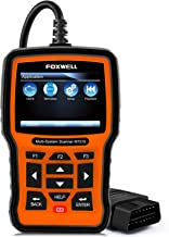 FOXWELL NT510 Full System OBD2 Scanner for Mercedes-Benz/Sprinter/Smart Auto OBD II Code Reader ABS/SRS/EPB/Transmission Diagnostic Scan Tools with OIL ABS Reset Special Function-The same as NT520 PRO