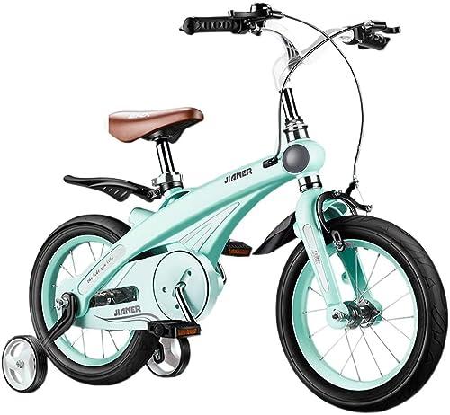 LI HAO SHOP Kinderfürr r, Kinderfürr r, Kinder-Mountainbikes, Kinderwagen (Multi-Größe optional) (Farbe   Grün Grass Grün, Größe   14 in)