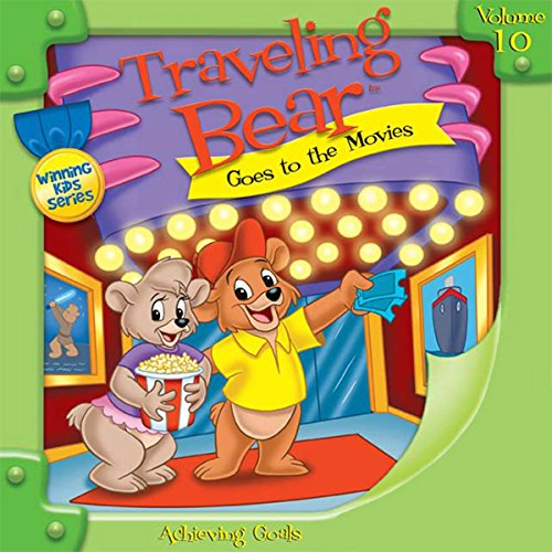 Traveling Bear Goes to the Movies audiobook cover art