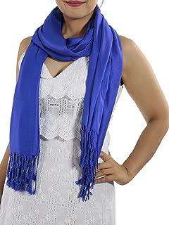 Blue Pashmina Shawl - Women's Scarf