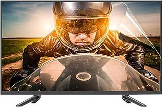 Protector de pantalla de TV mate, ritmo anti-reflexión anti-reflexión anti-deslumbramiento anti-reflexión de hasta 95%, al...