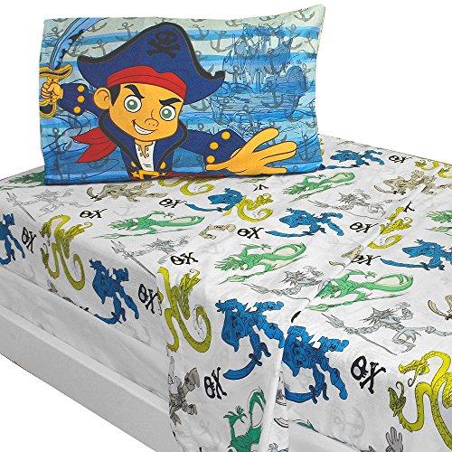 Conjunto de sábanas Capitán Jake y los piratas.