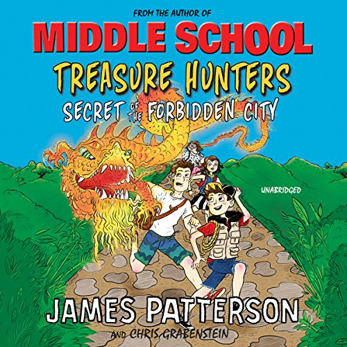 Treasure Hunters: Secret of the Forbidden City audiobook cover art