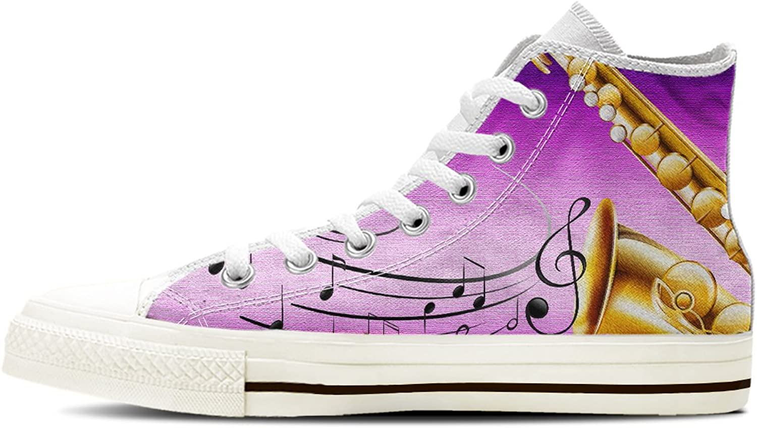 Gnarly Tees Women's Saxophone shoes High Top