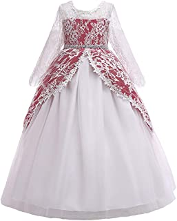 renaissance flower girl dresses