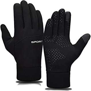 Winter Gloves Water Resistant Thermal Gloves, Lightweight Warm Touch Screen Sports Glove for Cycling/Hiking/Snow Ski