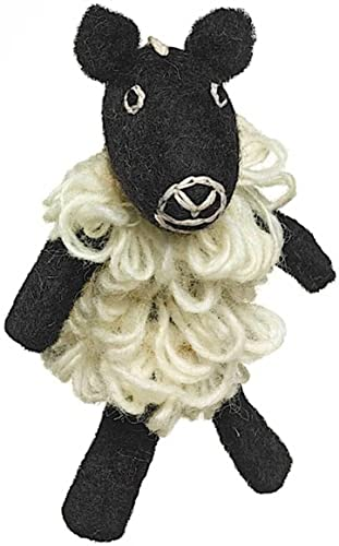 Compra calidad 100% autentica Marioneta de dedo oveja de lana hecho a mano mano mano y comercio justo  tiendas minoristas