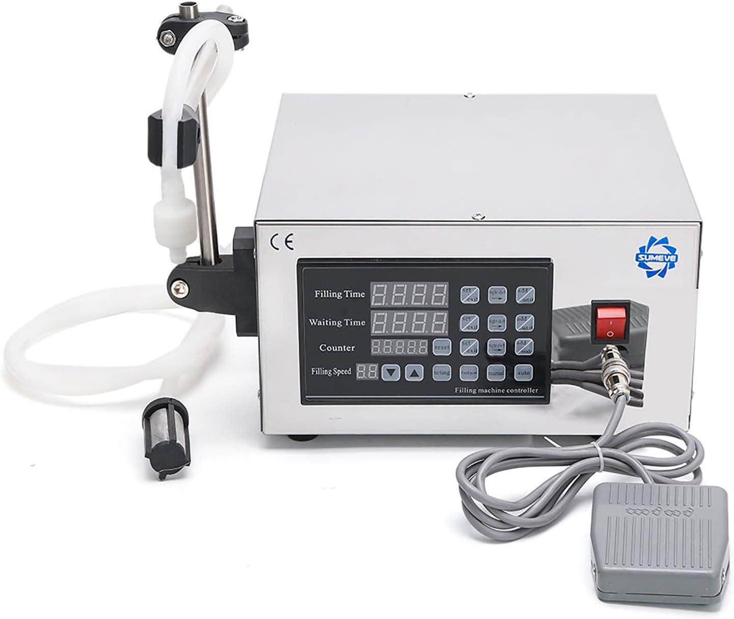 Sumeve Liquid Filling Machine Automatic Digital Control Bottle Filler(2-3500ml Digital Filling) GFK280