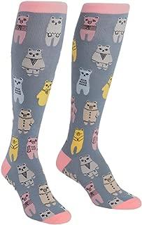 knee high bear socks