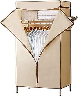 Garde-robe XINYALAMP Tube d'acier en Tissu Simple de Simple renforcé Moderne Portable Armoire Chambre à Coucher Vêtements ...