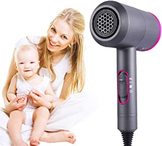 de pelo secador profesional Cepillo secador de pelo de salón profesional cepillo 2 en 1 cepillo de aire caliente pelo 2000W secadores iónicos negativos para secador de pelo secador de viento fuerte