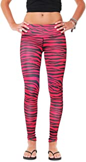 Team Tights Women's Leggings X-Small Black and Red