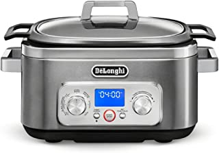 De'Longhi Livenza 7-in-1 Multi-Cooker Programmable SlowCooker, Bake, Brown, Saute, Rice, Steamer & Warmer, Easy to Use and...