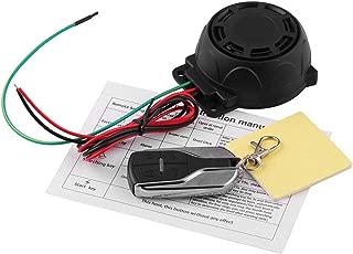 GG Boom Watch Dog Motorcycle Bike Vehicle Alarm Anti Theft Security System Lock with Easy Arming/Disarming, Remote Auto Start, ECU Transmitter, Anti-Hijack Engine Shut Down, High Power Speaker