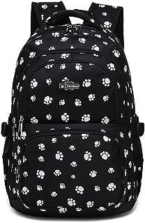 paw print backpack