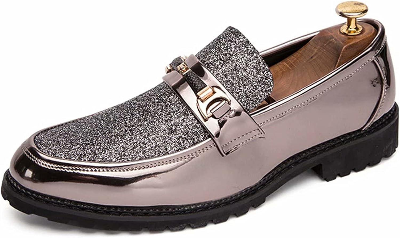 FeiZhi Men's Dress Shoes Classic Formal Mens Oxfords Retro Derby Oxford