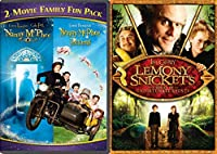 Nanny McPhee 2-Movie Family Fun Pack + Lemony Snicket's A Series Of Unfortunate Events 2 DVD Nanny Mcphee Returns Part 2