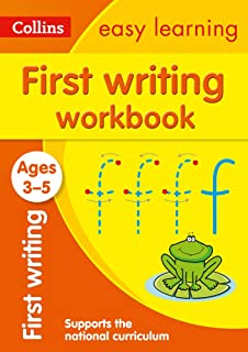 First Writing Workbook Ages 3-5: Ideal for Home Learning