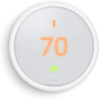 Google E Nest Automated Climate Thermostat, white (T4000ES), 1