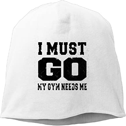 ee01a5373f0 I Must Go My Gym Needs Me New Winter Hats Knitted Twist Cap Thick Beanie Hat