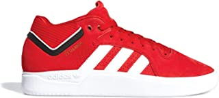 adidas x Tyshawn Jones (Scarlet/White/Core Black) Men's Skate Shoes-12