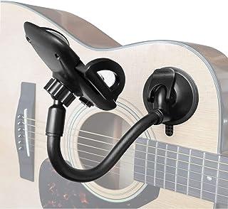 دارنده تلفن برای گیتار ، نگهدارنده مکش متحرک ALLICAVER تلفن دارنده گیتار کلاسیک الکتریکی صوتی