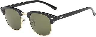 Polarized Sunglasses Women/Men Vintage Rice Nail UV400 Classic Eyewear Sun Glasses