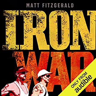 Iron War audiobook cover art