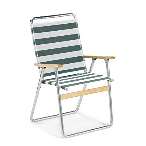 Terrific Lawn Chair Wood Arms Aluminum Amazon Com Beutiful Home Inspiration Aditmahrainfo