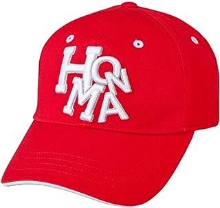 Honma New 699-317670 Dancing Red/White Adjustable Golf Hat/Cap