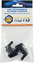 Mean Mug Auto 61518-232314B (Two) Front Windshield Washer Nozzles - For: Ford - Replaces OEM #: BC3Z-17603-A