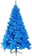 SLZFLSSHPK Kerstboom kunstmatige PVC Nieuwjaar Ornament Xmas Bomen Kunstmatige Gemakkelijke Montage Blauwe Kerstboom Kunst...