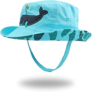 Pesaat Chapeau de Bébé Garçon éte Enfant Chapeau de Soleil Casquette pour Protection Solair 0 à 4 Ans