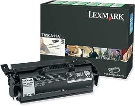 Lexmark T650A11A Black Print T65X Return Program  Toner Cartridge