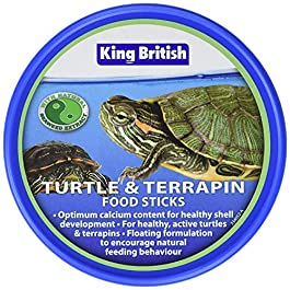 King British Turtle and Terrapin Food Sticks 100g