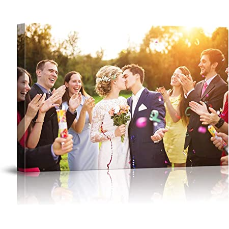 Cuadro Personalizado con tu Foto,Lienzo Personalizado,Personalizalo Online tu Cuadro con la Image, Impresión de Foto sobre cartón Pluma Ultra Ligero--50x40cm