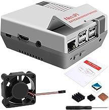 GeeekPi Retro Gaming Nes3Pi Gehäuse für Raspberry Pi 3 Modell B/B +, Raspberry Pi 2B /..