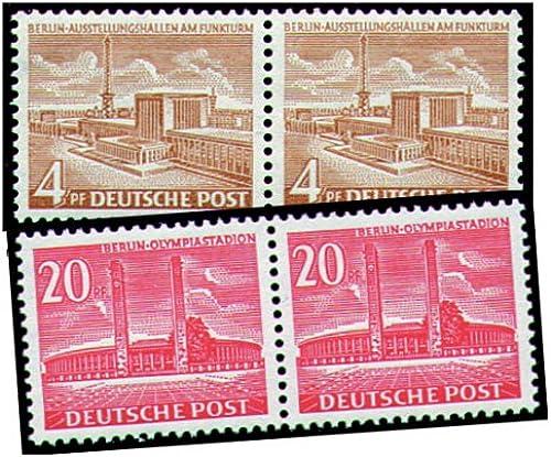 Goldhahn Berlin Nr. 112-113 postfrischWaagerechter Paarsatz - Briefmarken für Sammler