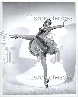Historic Images - 1976 Vintage Press Photo Nicole Hopley Bird Peter Wolf - RRV12489