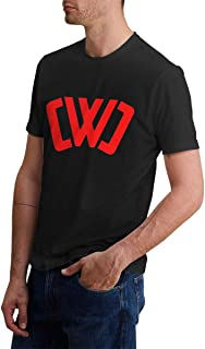Lovable Reverie CWC Chad Wild Clay Cotton T-Shirt Short Sleeve Round Collar Black Tops for Man Adult Fashion