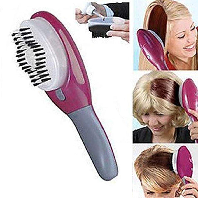 洗練実験室とげ電動高速染毛コーム、ヘアスタイリングツール用高精度工具、染毛用特殊ブラシ