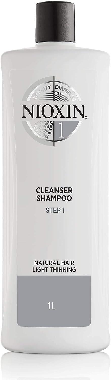 NIOXIN System 1 - Cuidado del cabello - Limpiador - Champú 1000ml