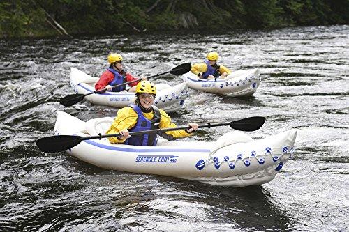 Sea Eagle SE330 Inflatable Sports Kayak Pro Solo Package