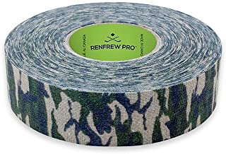 Renfrew Scapa Tapes Renfrew Bright or Patterned Cloth Hockey Tape - 1 Inch - Olive Camouflage - 1 Inch