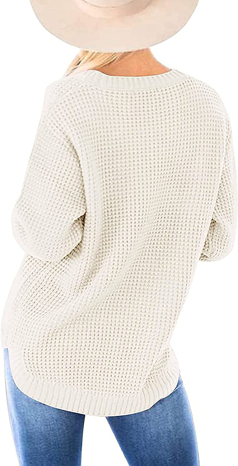 NP Color Women Sweater Causal Knitted Autumn Casual Loose Sweaters