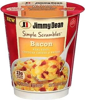 Jimmy Dean Simple Scrambles Bacon, 5.35 Ounce -- 6 per case.