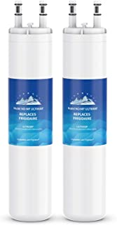 Mountain Flows ULТRAWF Compatible Refrigerator Water Filter Replacement Pure Source Ultra - 2PACKS