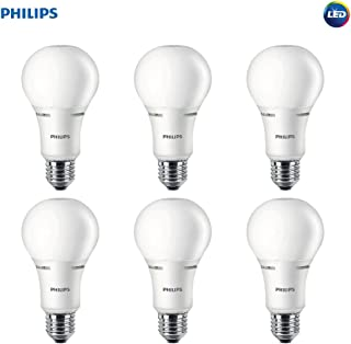 Philips LED 472548 50-100-150 Watt Equivalent 3-Way Frosted A21 Energy Star Certified LED Light Bulb (6 Pack), 6-Pack, Soft White, 6 Piece