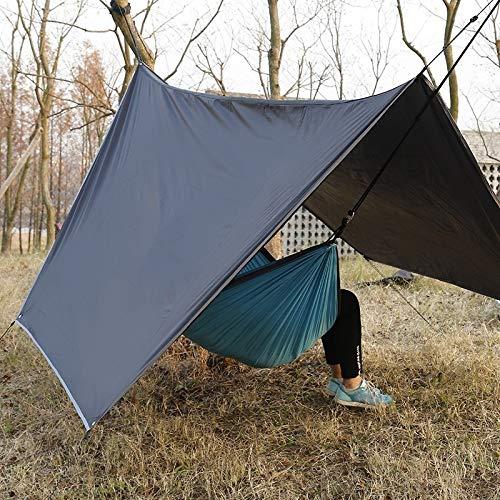 DIDA Tienda de campaña al Aire Libre Accesorios Anti-UV Vida Tienda Impermeable al Aire Libre Camping Sun Beach Refugio Toldo Pérgola con Bolsa de Almacenamiento Tamaño: 2,8 x 3,6 m